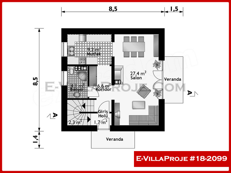 Ev Villa Proje #18 – 2099