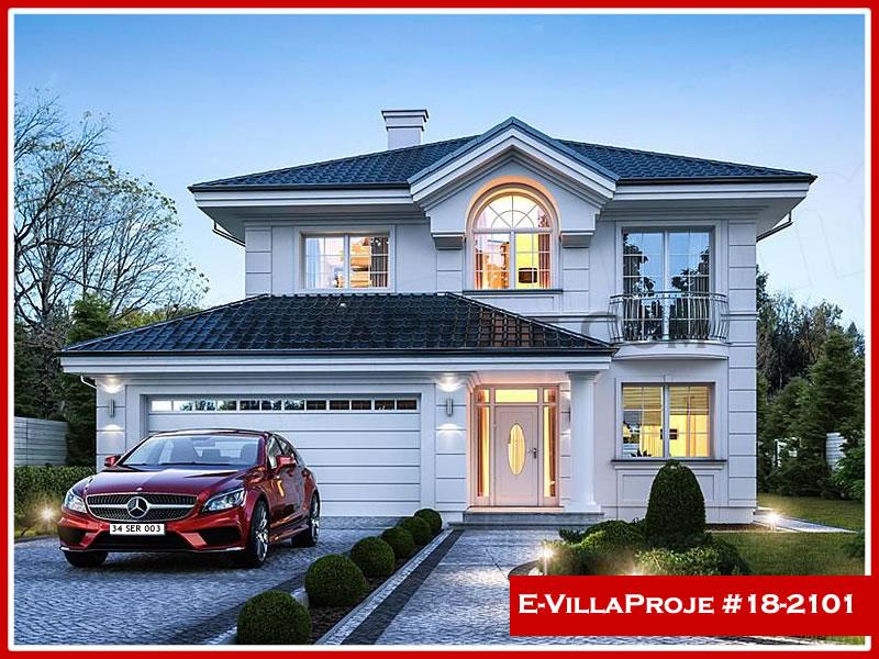 Ev Villa Proje #18 – 2101, 2 katlı, 4 yatak odalı, 2 garajlı, 191 m2