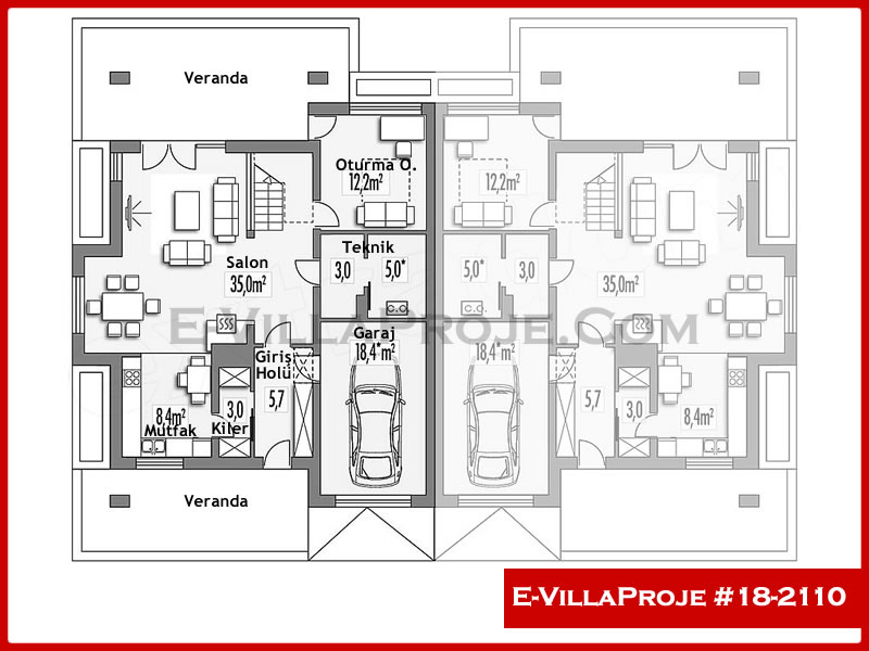Ev Villa Proje #18 – 2110