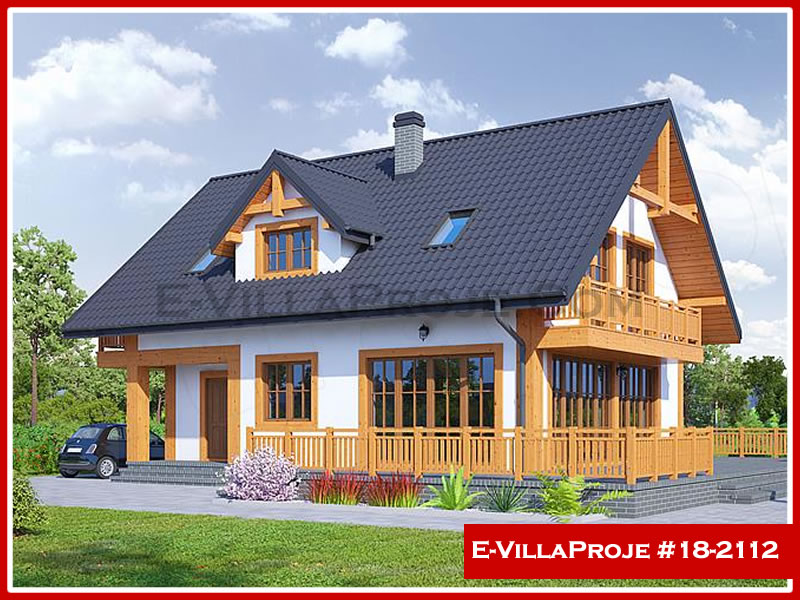 Ev Villa Proje #18 – 2112, 2 katlı, 3 yatak odalı, 0 garajlı, 194 m2