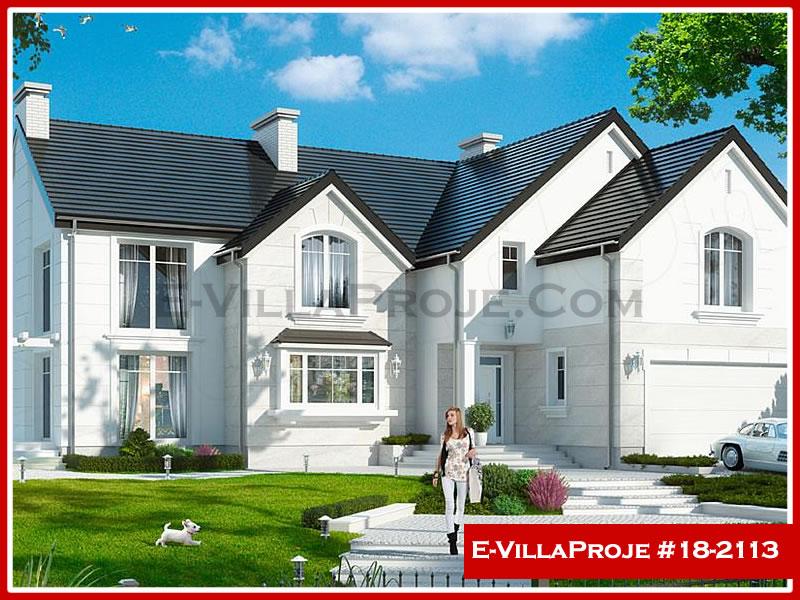 Ev Villa Proje #18 – 2113, 2 katlı, 6 yatak odalı, 2 garajlı, 388 m2
