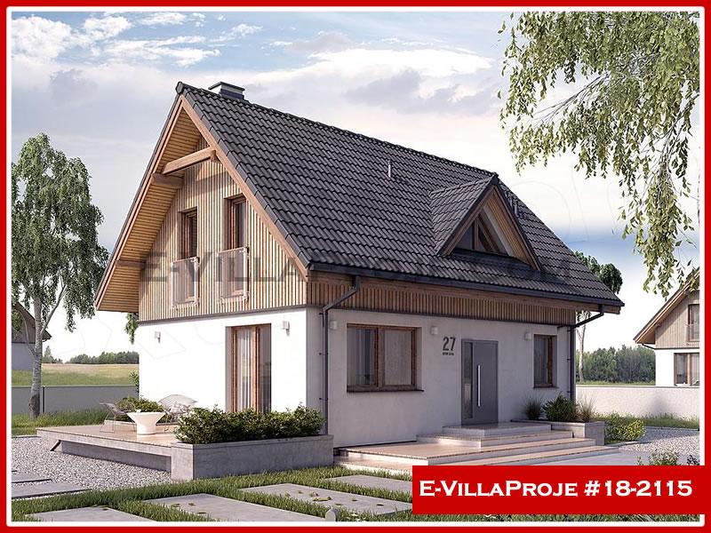 Ev Villa Proje #18 – 2115, 2 katlı, 3 yatak odalı, 0 garajlı, 137 m2