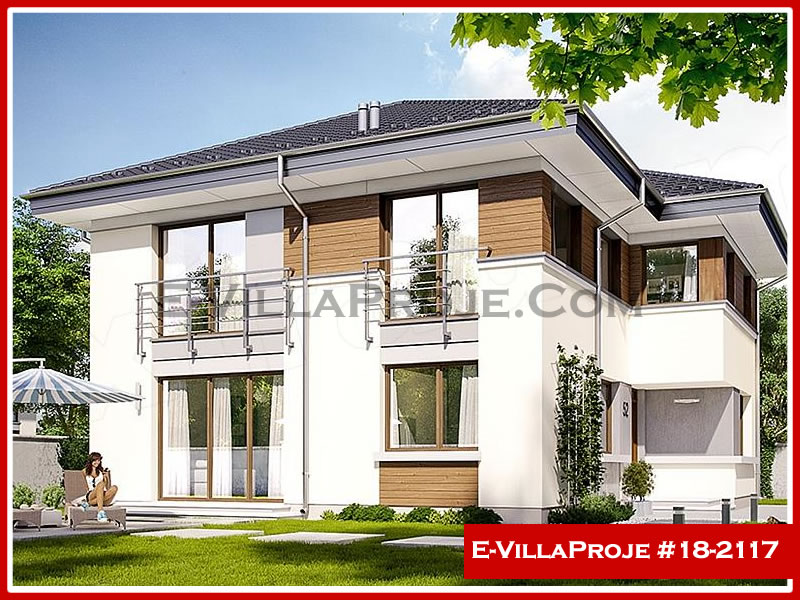 Ev Villa Proje #18 – 2117, 2 katlı, 4 yatak odalı, 0 garajlı, 235 m2