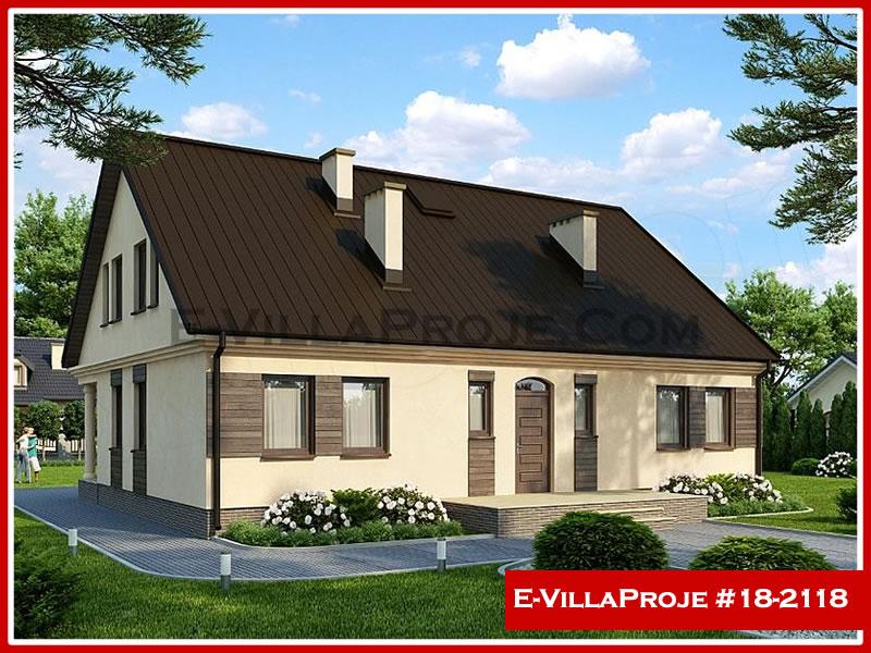 Ev Villa Proje #18 – 2118, 2 katlı, 5 yatak odalı, 0 garajlı, 226 m2