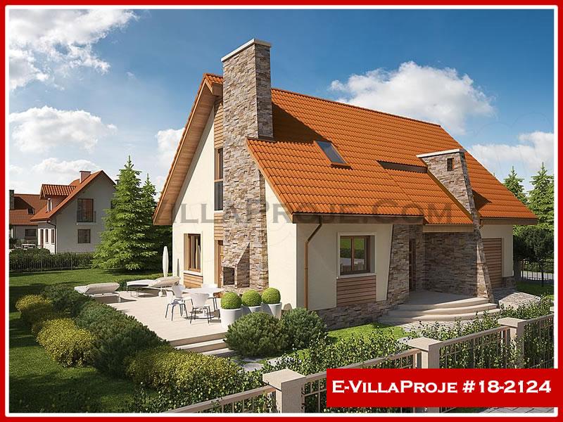 Ev Villa Proje #18 – 2124, 2 katlı, 3 yatak odalı, 1 garajlı, 168 m2