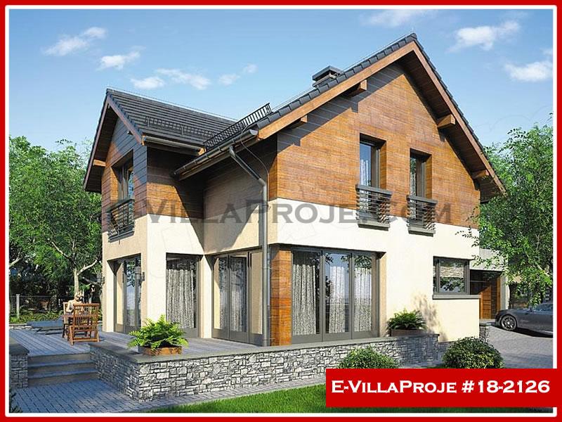 Ev Villa Proje #18 – 2126, 2 katlı, 4 yatak odalı, 0 garajlı, 203 m2