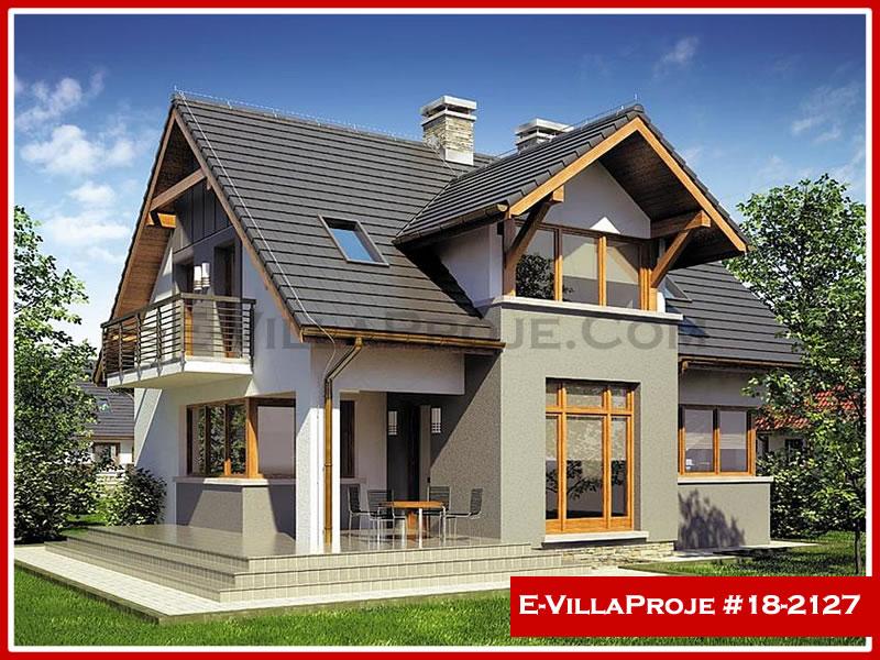 Ev Villa Proje #18 – 2127, 2 katlı, 4 yatak odalı, 1 garajlı, 201 m2