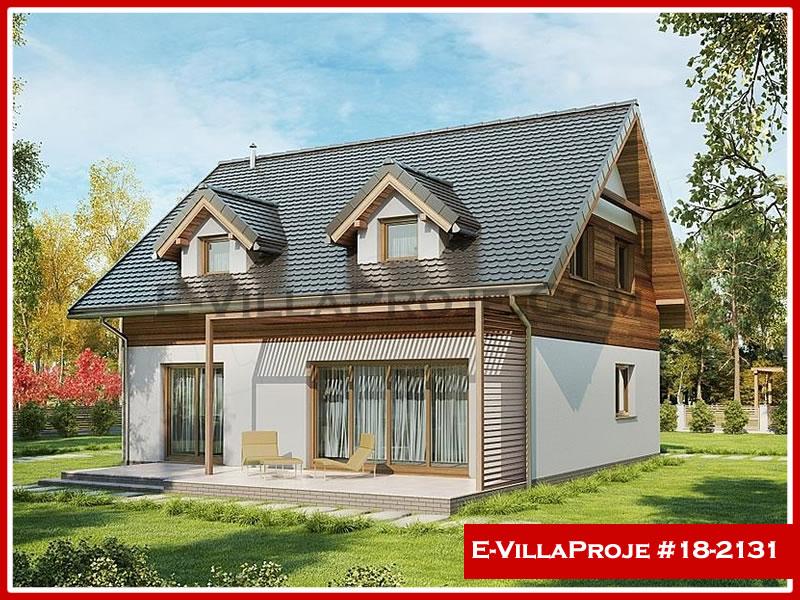 Ev Villa Proje #18 – 2131, 2 katlı, 4 yatak odalı, 0 garajlı, 170 m2