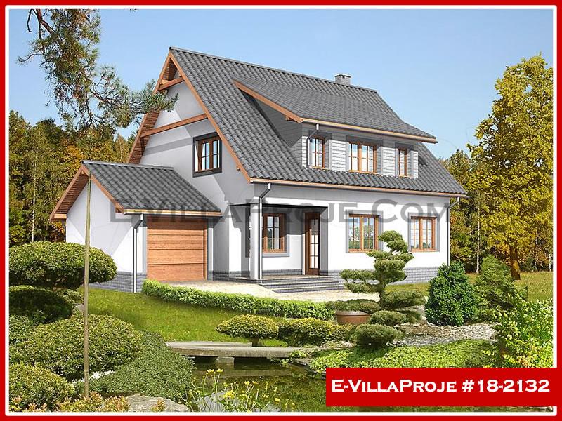 Ev Villa Proje #18 – 2132, 2 katlı, 3 yatak odalı, 1 garajlı, 200 m2