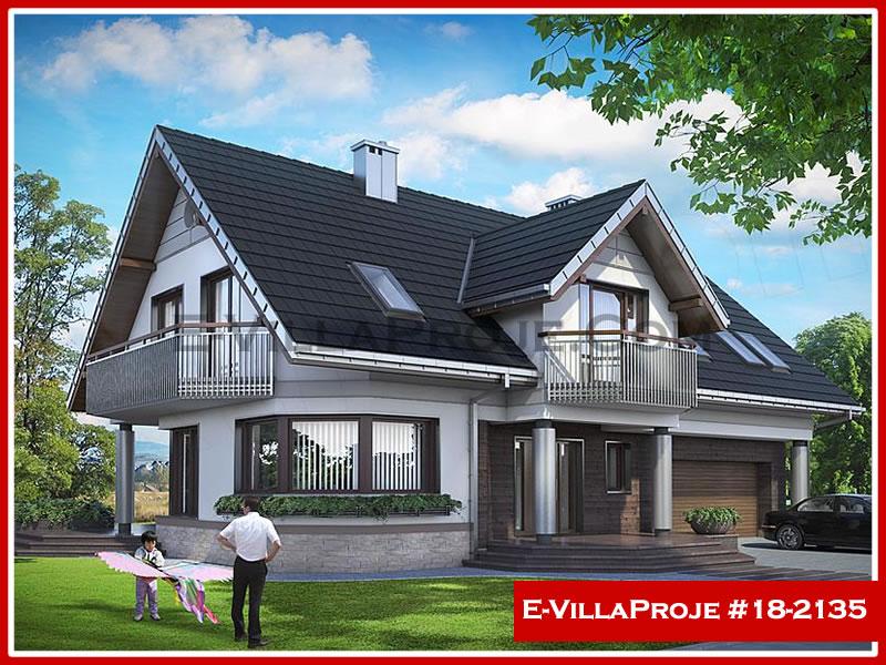 Ev Villa Proje #18 – 2135, 2 katlı, 4 yatak odalı, 2 garajlı, 261 m2