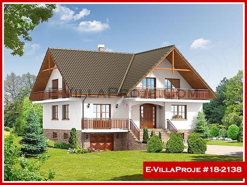 Ev Villa Proje #18 – 2138, 2 katlı, 5 yatak odalı, 1 garajlı, 256 m2