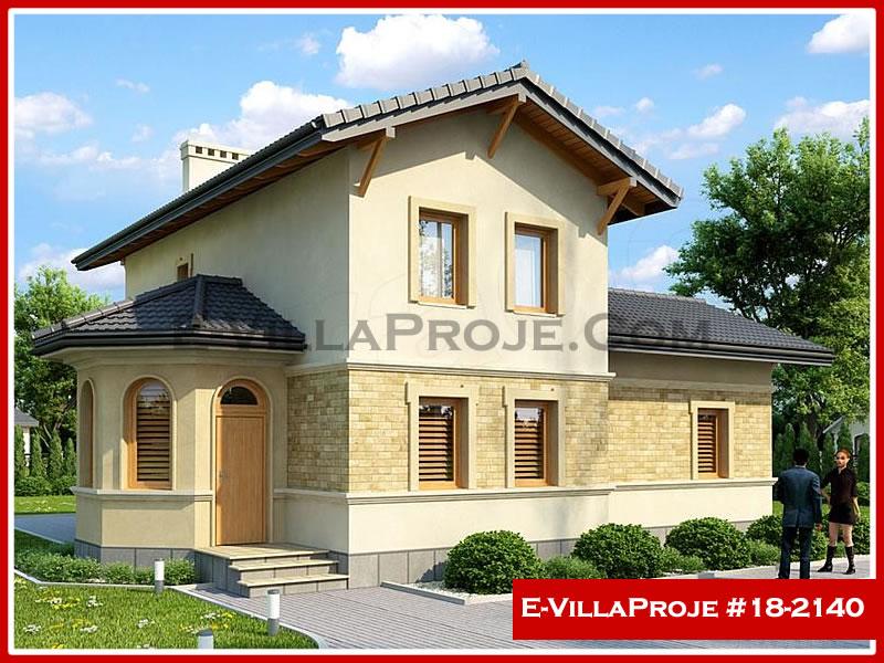 Ev Villa Proje #18 – 2140, 2 katlı, 3 yatak odalı, 0 garajlı, 141 m2