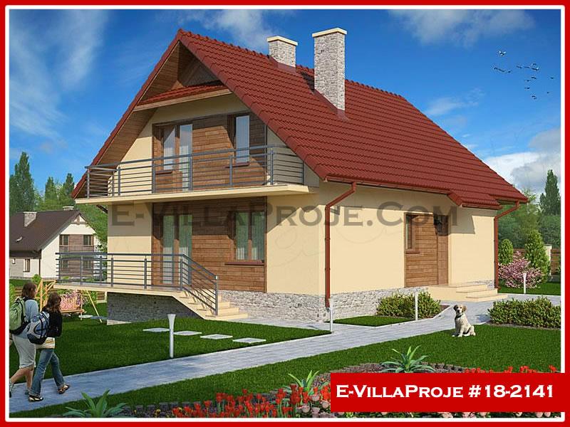 Ev Villa Proje #18 – 2141, 2 katlı, 5 yatak odalı, 0 garajlı, 198 m2