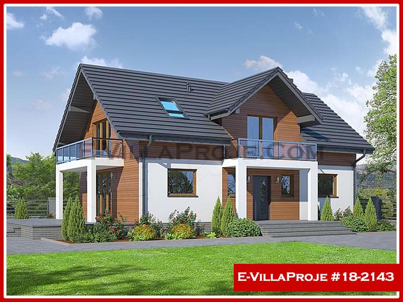 Ev Villa Proje #18 – 2143, 2 katlı, 4 yatak odalı, 0 garajlı, 207 m2