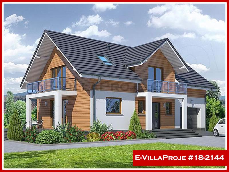 Ev Villa Proje #18 – 2144, 2 katlı, 3 yatak odalı, 1 garajlı, 200 m2