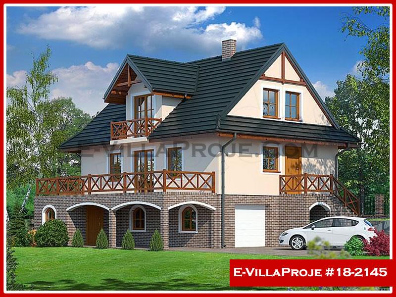 Ev Villa Proje #18 – 2145, 2 katlı, 2 yatak odalı, 1 garajlı, 192 m2
