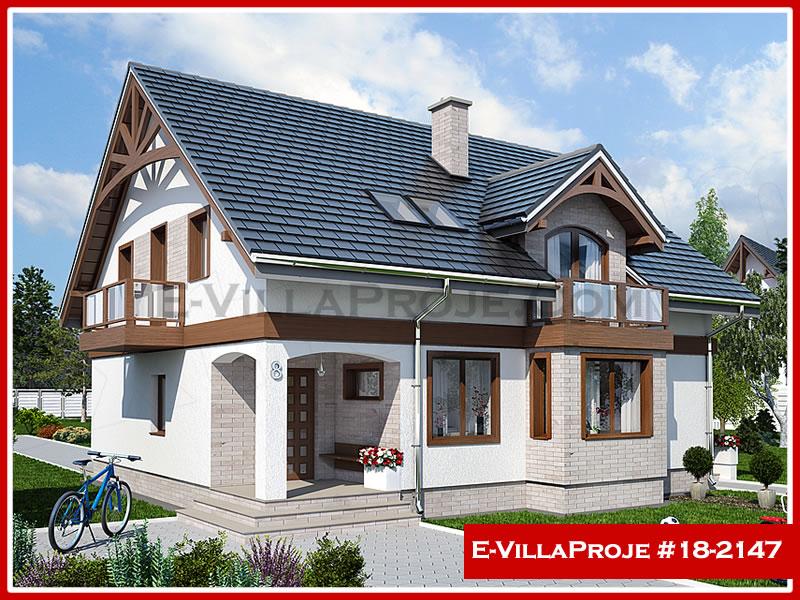 Ev Villa Proje #18 – 2147, 2 katlı, 4 yatak odalı, 0 garajlı, 217 m2