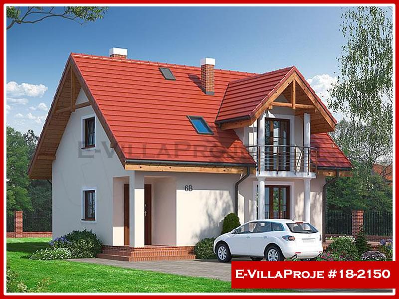 Ev Villa Proje #18 – 2150, 2 katlı, 3 yatak odalı, 0 garajlı, 139 m2