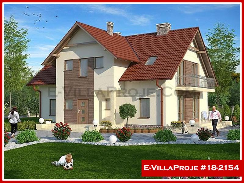 Ev Villa Proje #18 – 2154, 2 katlı, 4 yatak odalı, 0 garajlı, 254 m2