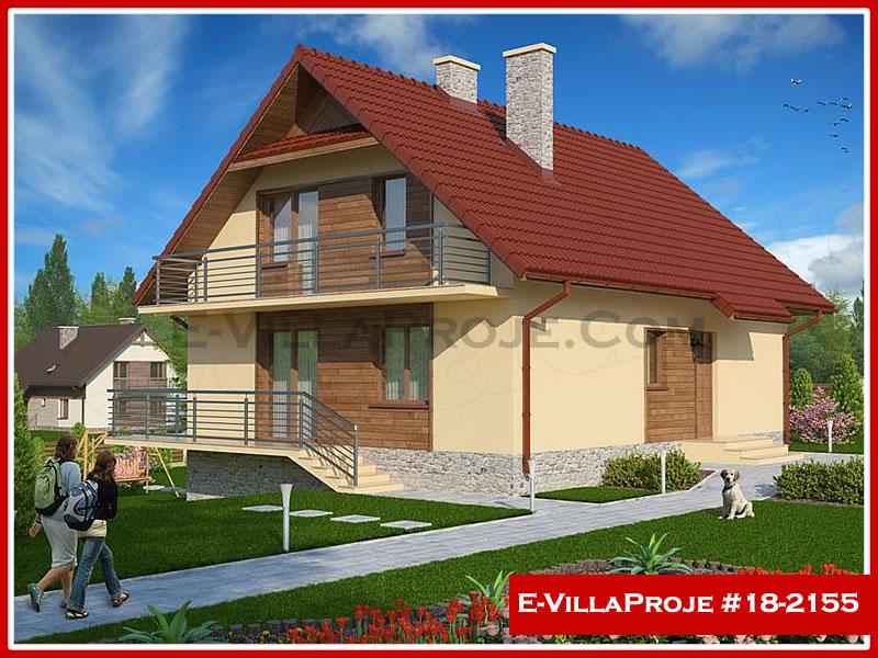 Ev Villa Proje #18 – 2155, 2 katlı, 5 yatak odalı, 0 garajlı, 198 m2