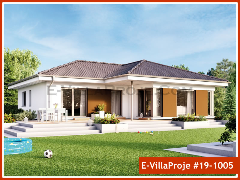 Ev Villa Proje #19 – 1005, 1 katlı, 3 yatak odalı, 0 garajlı, 141 m2