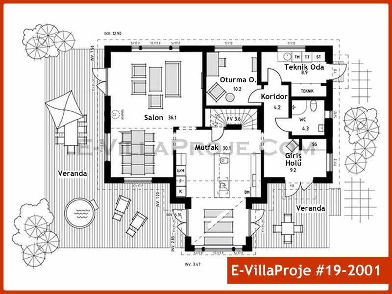 Ev Villa Proje #19 – 2001
