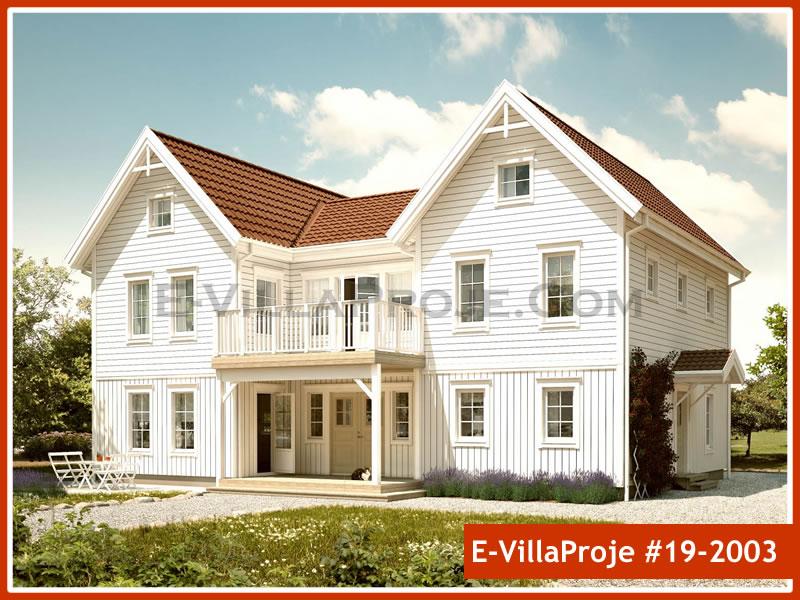 Ev Villa Proje #19 – 2003, 2 katlı, 4 yatak odalı, 0 garajlı, 280 m2