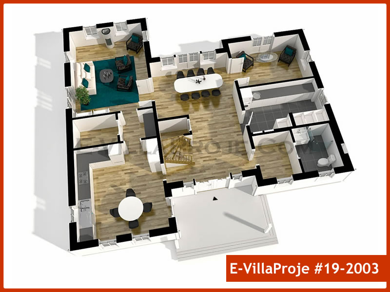 Ev Villa Proje #19 – 2003