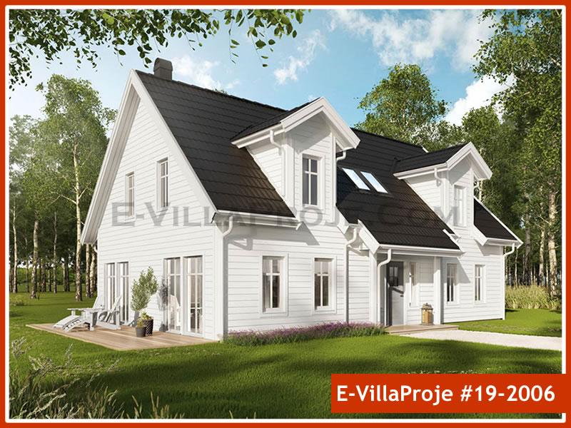 Ev Villa Proje #19 – 2006, 2 katlı, 3 yatak odalı, 0 garajlı, 203 m2