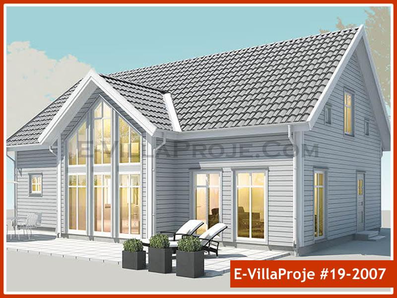 Ev Villa Proje #19 – 2007, 2 katlı, 3 yatak odalı, 0 garajlı, 222 m2