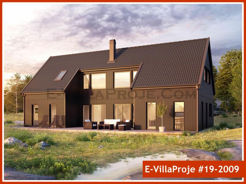 Ev Villa Proje #19 – 2009, 2 katlı, 4 yatak odalı, 0 garajlı, 205 m2