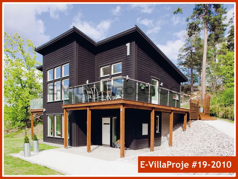 Ev Villa Proje #19 – 2010, 2 katlı, 3 yatak odalı, 0 garajlı, 199 m2