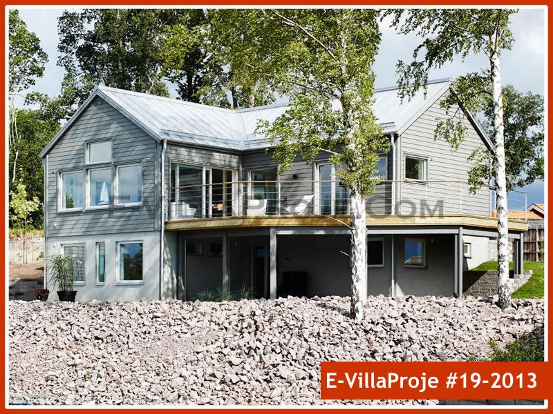 Ev Villa Proje #19 – 2013, 2 katlı, 3 yatak odalı, 0 garajlı, 234 m2