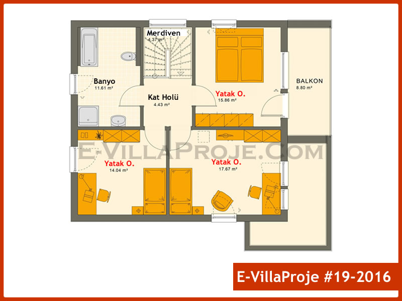 Ev Villa Proje #19 – 2016