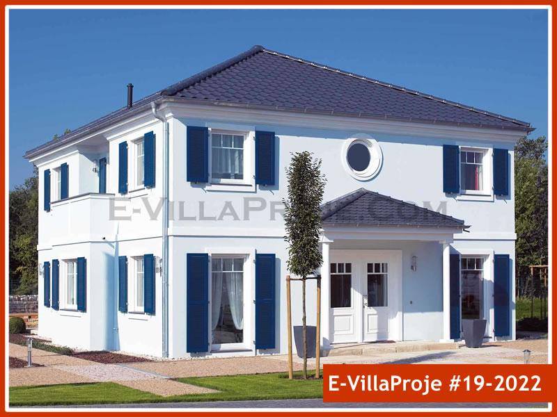 Ev Villa Proje #19 – 2022, 2 katlı, 4 yatak odalı, 0 garajlı, 248 m2
