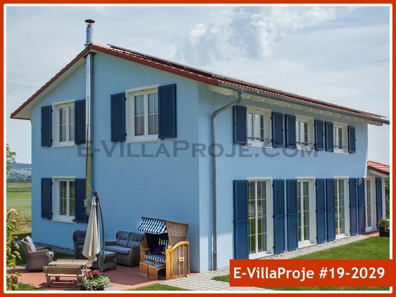 Ev Villa Proje #19 – 2029, 2 katlı, 4 yatak odalı, 0 garajlı, 212 m2