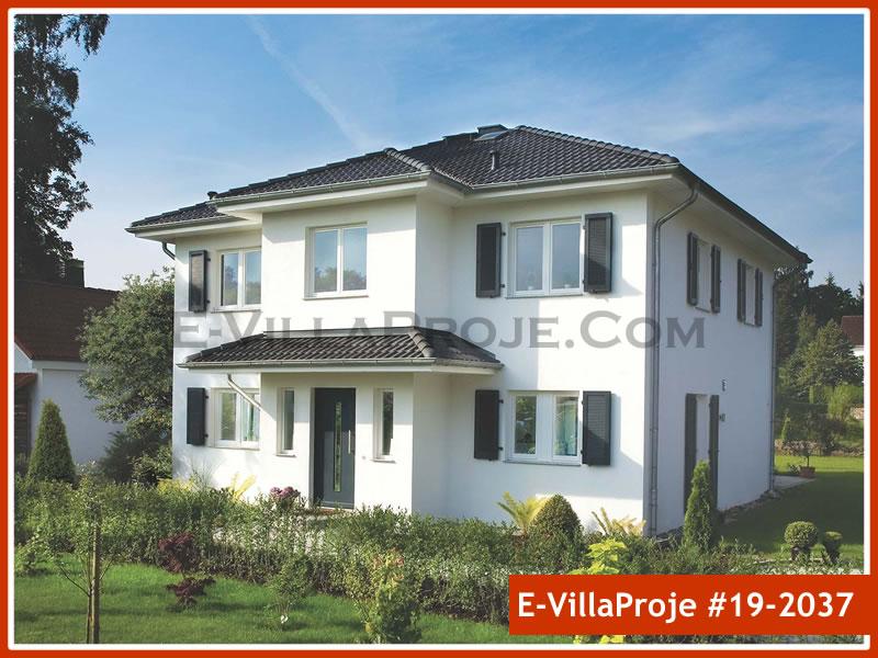 Ev Villa Proje #19 – 2037, 2 katlı, 4 yatak odalı, 0 garajlı, 238 m2