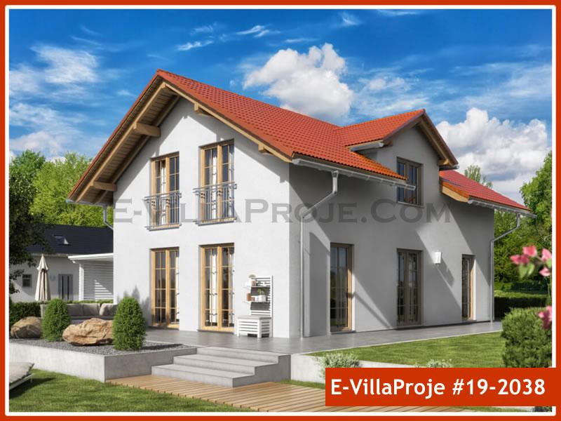 Ev Villa Proje #19 – 2038, 2 katlı, 4 yatak odalı, 0 garajlı, 193 m2