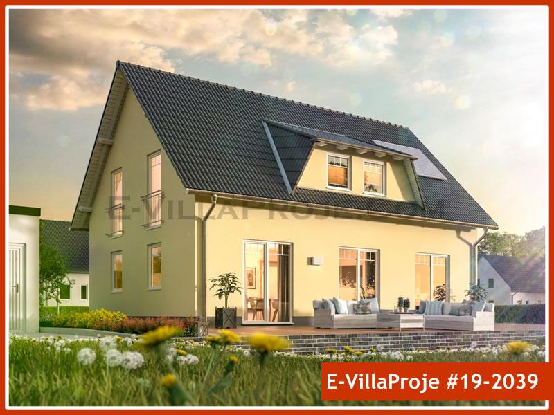 Ev Villa Proje #19 – 2039, 2 katlı, 4 yatak odalı, 0 garajlı, 194 m2