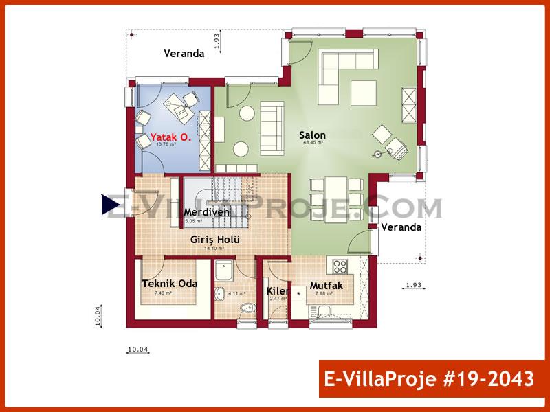 Ev Villa Proje #19 – 2043