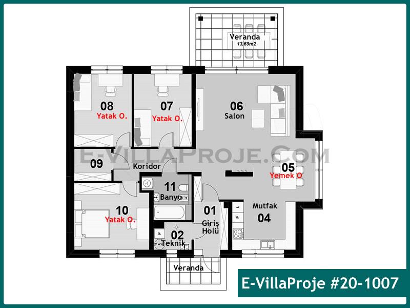 Ev Villa Proje #20 – 1007