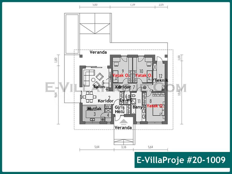 Ev Villa Proje #20 – 1009