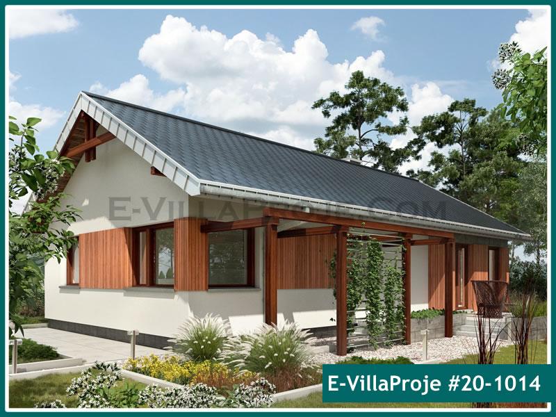 Ev Villa Proje #20 – 1014, 1 katlı, 3 yatak odalı, 1 garajlı, 136 m2