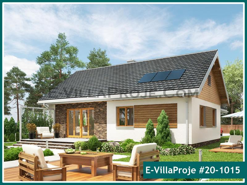 Ev Villa Proje #20 – 1015, 1 katlı, 3 yatak odalı, 1 garajlı, 104 m2