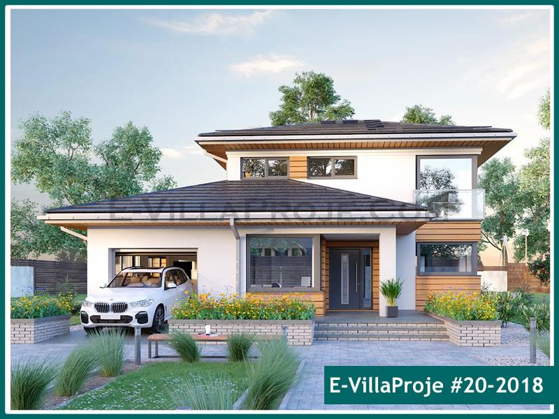 Ev Villa Proje #20 – 2018, 2 katlı, 5 yatak odalı, 1 garajlı, 227 m2