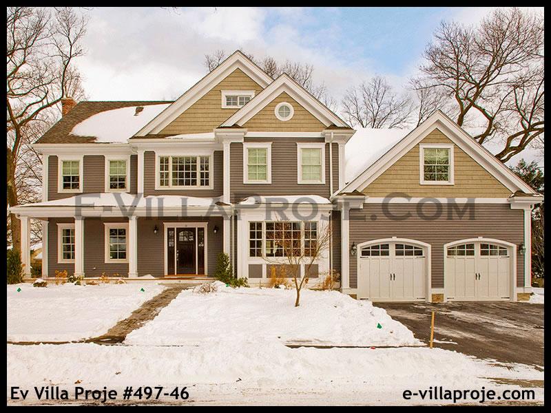 Ev Villa Proje #497 – 46, 2 katlı, 4 yatak odalı, 386 m2