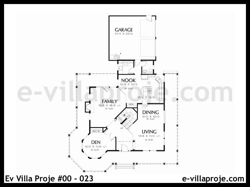 Ev Villa Proje #00 – 023