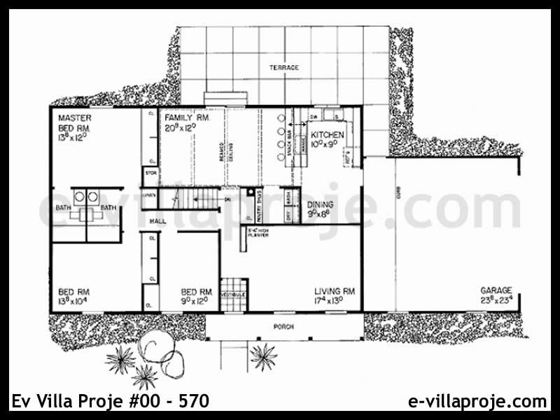 Ev Villa Proje #00 – 570