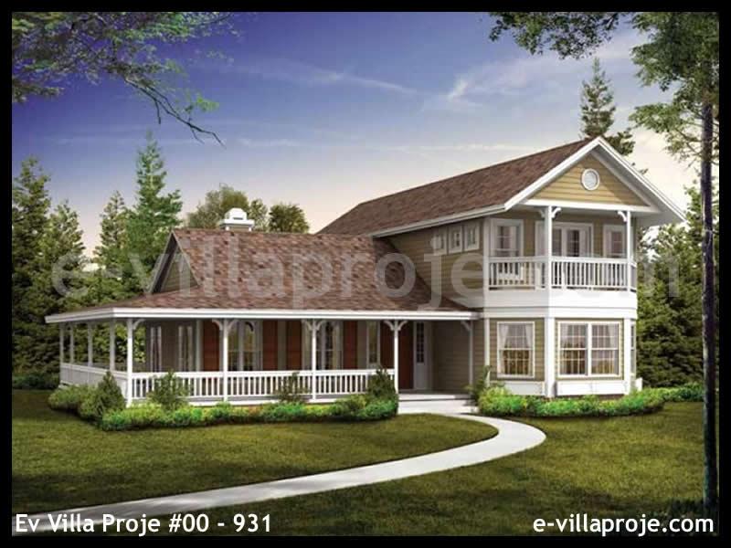 Ev Villa Proje #00 – 931, 2 katlı, 3 yatak odalı, 0 garajlı, 178 m2