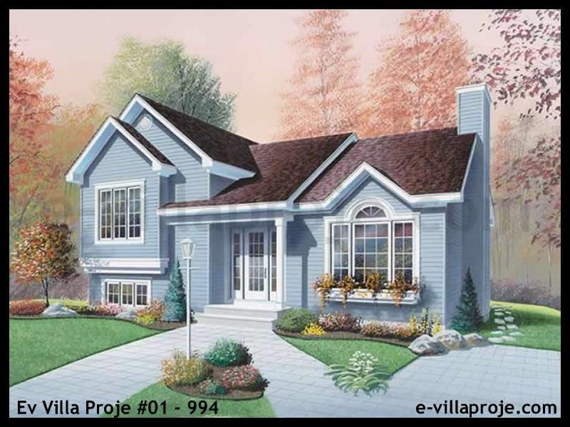 Ev Villa Proje #01 – 994, 2 katlı, 3 yatak odalı, 0 garajlı, 175 m2
